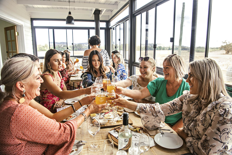 wine tour celebration hens bucks birthday